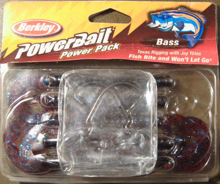 Съедобная резина Berkley PowerBait Power Pack