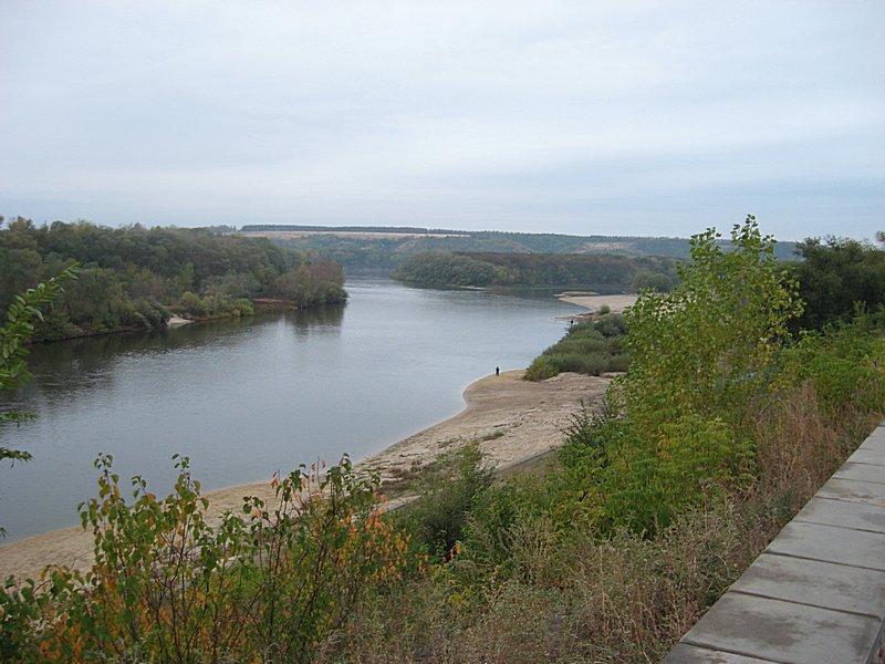 Река Дон у города Павловск