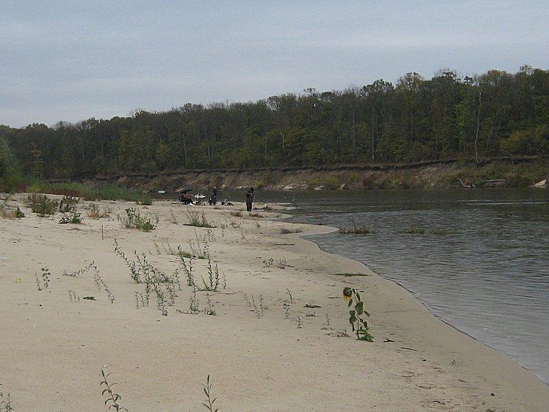Белогорский пляж на реке Дон