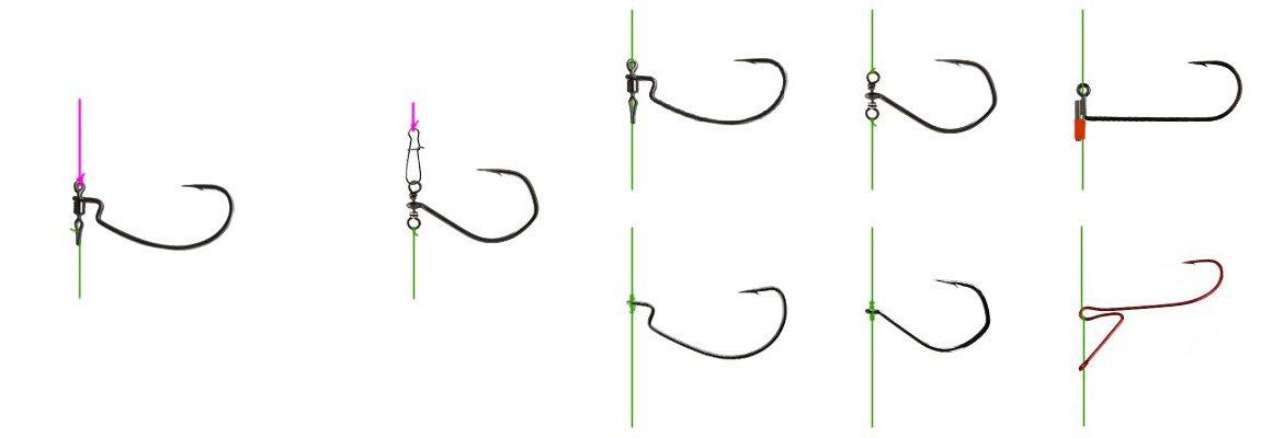 Крючки для дроп-шота